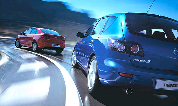 Mazda обязана ростом продаж в России Mazda3