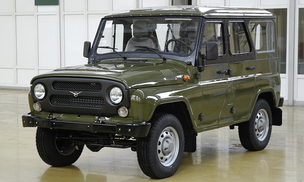 С конвейера УАЗа сошел первый обновленный УАЗ-469