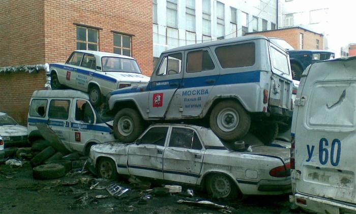Все автомобили ГУВД Москвы получат ГЛОНАСС до конца года