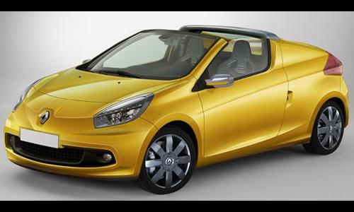 Renault готовит кабриолет на базе мини-кара Twingo