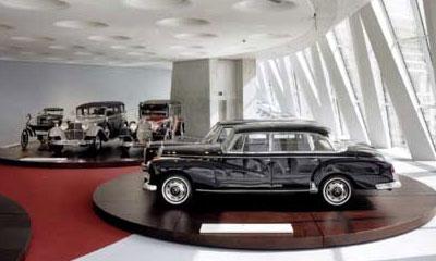 DaimlerChrysler открыл новый музей марки Mercedes-Benz