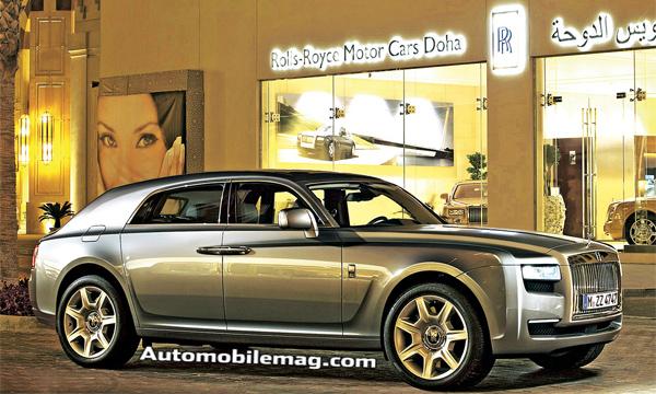Rolls-Royce выпустит кроссовер после премьеры BMW X7
