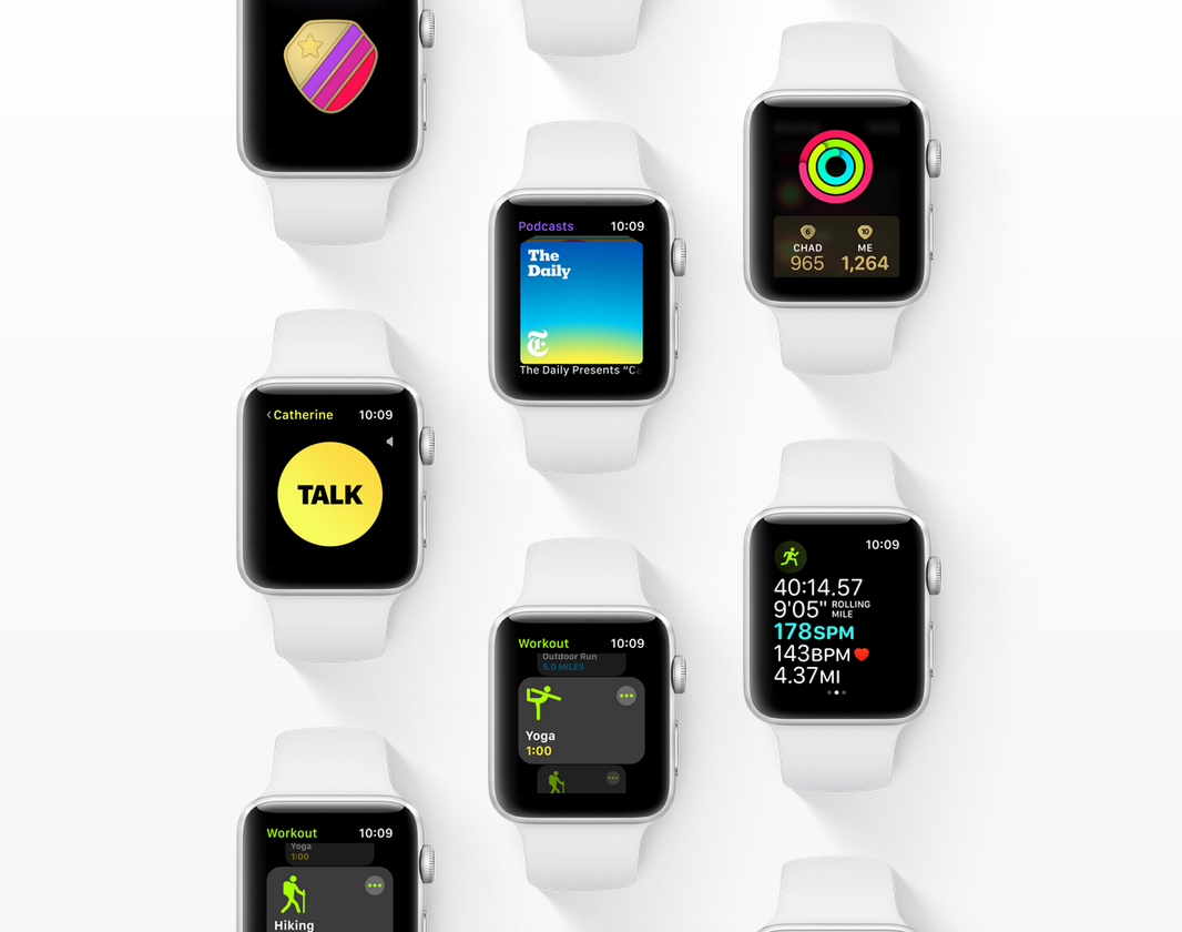 WatchOS 5 для Apple Watch