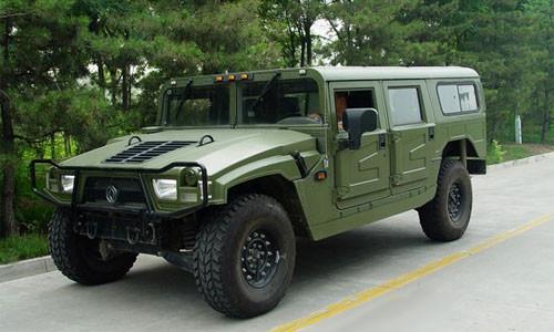 Китайцы скопировали Humvee