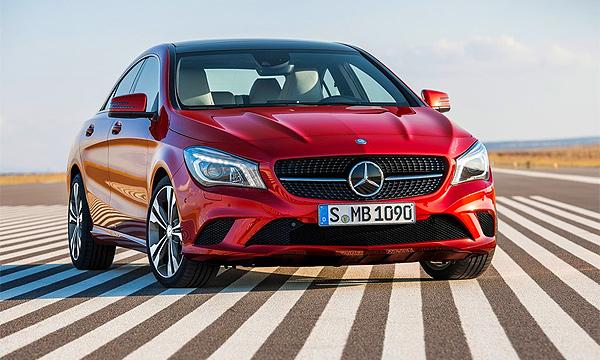 Mercedes назвал российские цены на седан CLA