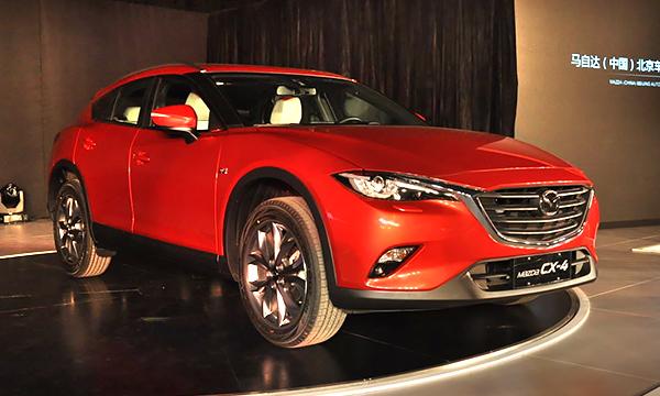 Кроссовер Mazda CX-4 получил 192-сильный двигатель