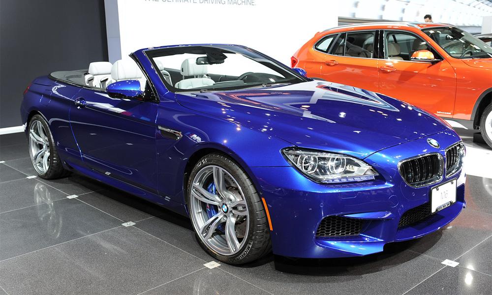 BMW M6 cabrio
