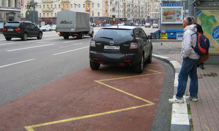 Штраф за парковку на остановках вырастет до 10 000 рублей