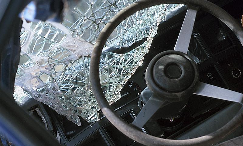 Две машины из кортежа губернатора Волгоградской обл. улетели в кювет
