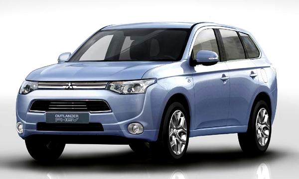 Mitsubishi объявила рублевые цены на Outlander PHEV