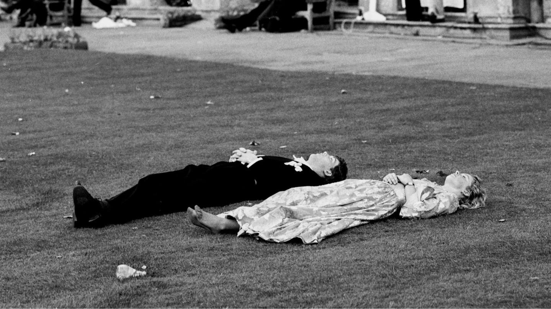 Давид Джоунз, торжественный бал колледжа Магдален, Оксфорд, 1988 г.