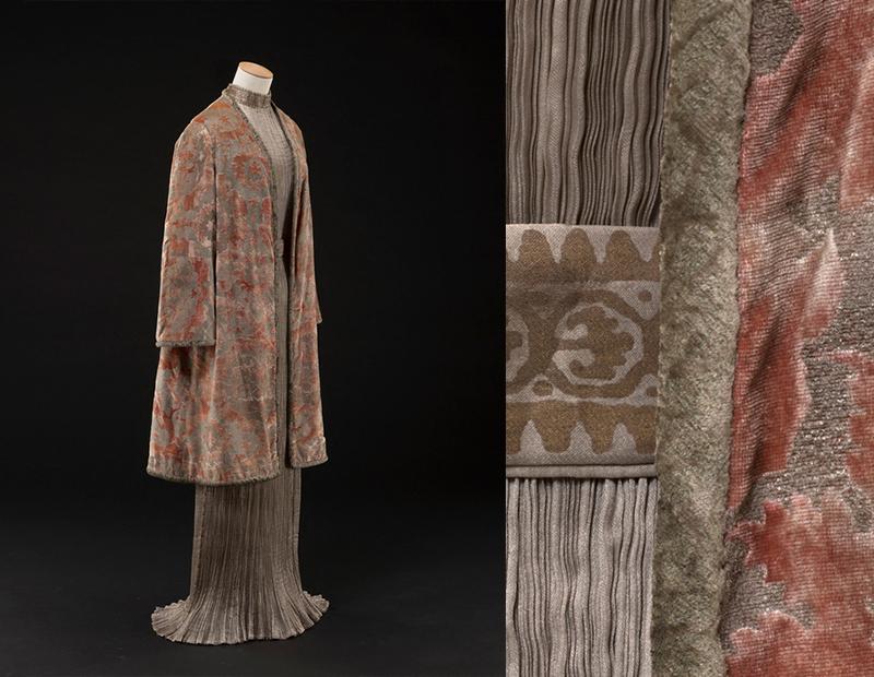 Платье и пальто Delphos,ок. 1919-1920