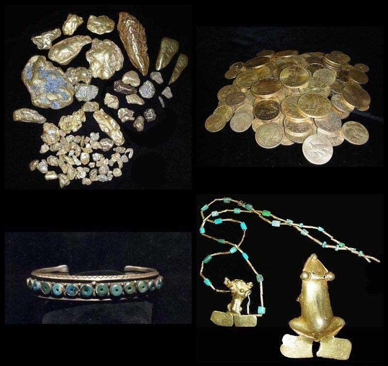 В 2010-х Фенн добавил к сокровищам в сундуке редкие золотые монеты и несколько золотых слитков, а также древние нефритовые маски из Китая и украшения с изумрудами и рубинами