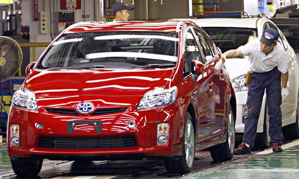 Все заводы Toyota в Японии заработали на полную мощность