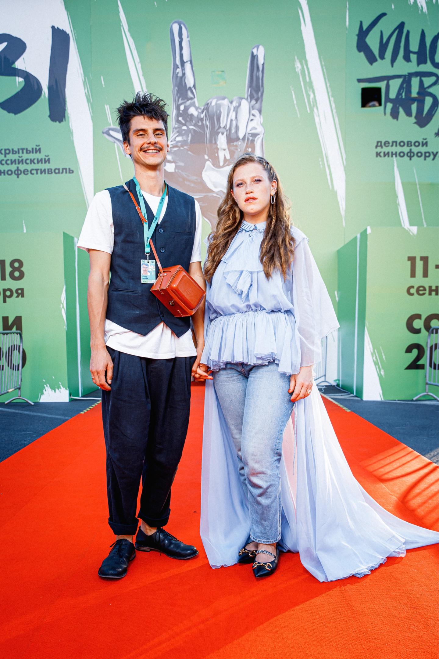 Евгений Козлов и Варвара Шмыкова