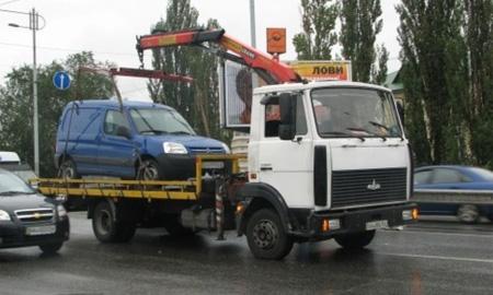В Киеве остановила работу служба эвакуации автомобилей