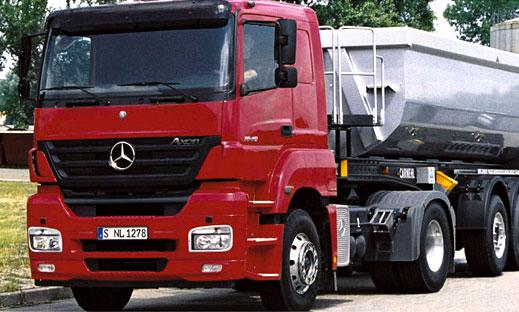 DaimlerChrysler будет экспортировать грузовики
