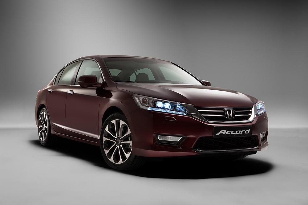 Озвучены комплектации нового Honda Accord для российского рынка