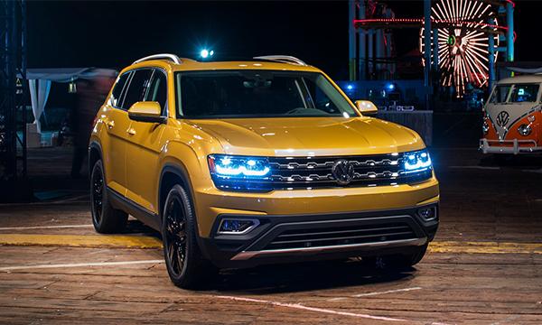 Самый большой кроссовер Volkswagen появится в России в следующем году
