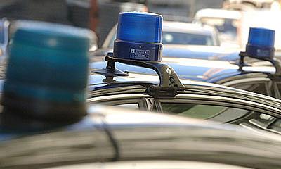 По Москве ездят 900 чиновников на машинах с мигалками