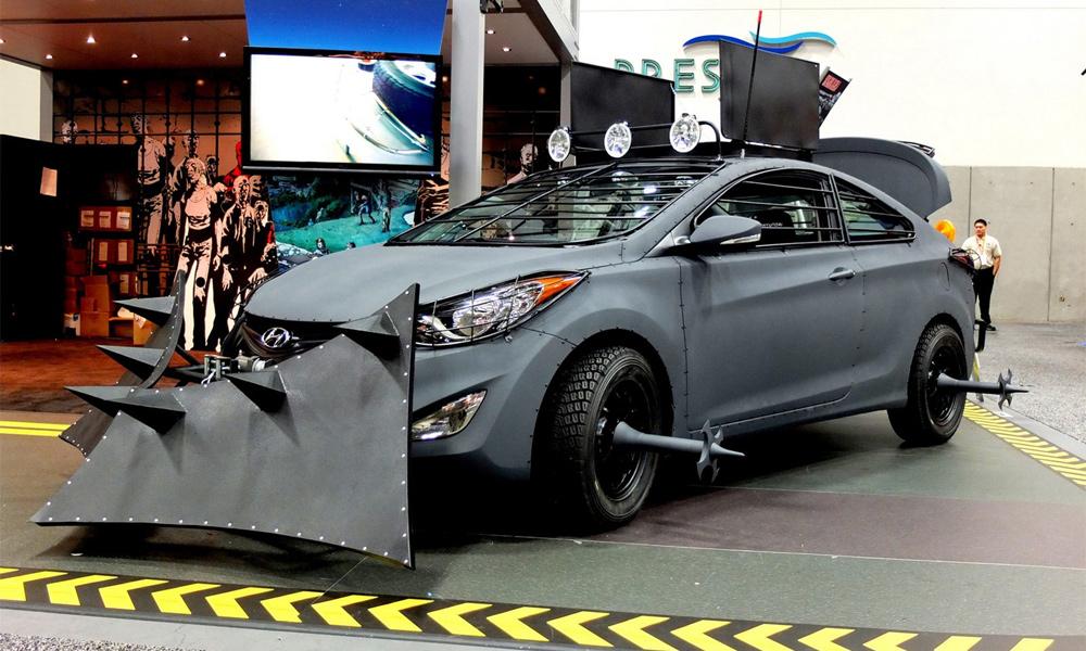 Американцы подготовили Hyundai Elantra к зомби-апокалипсису