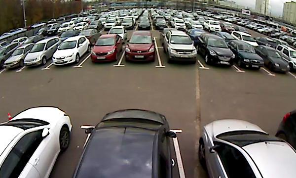 Перехватывающие парковки покажут в режиме онлайн