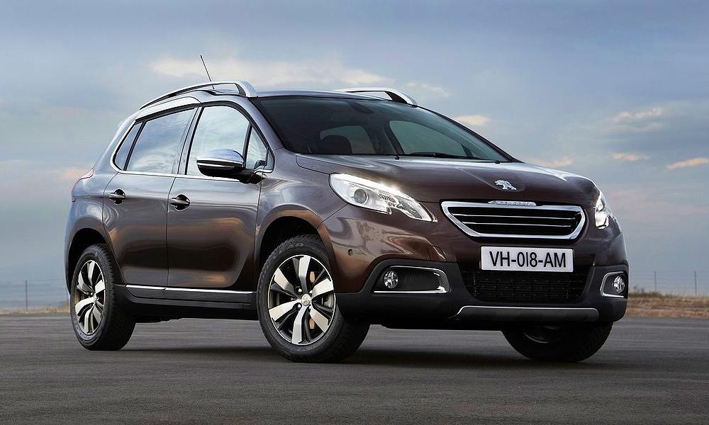 Объявлены российские цены Peugeot 2008