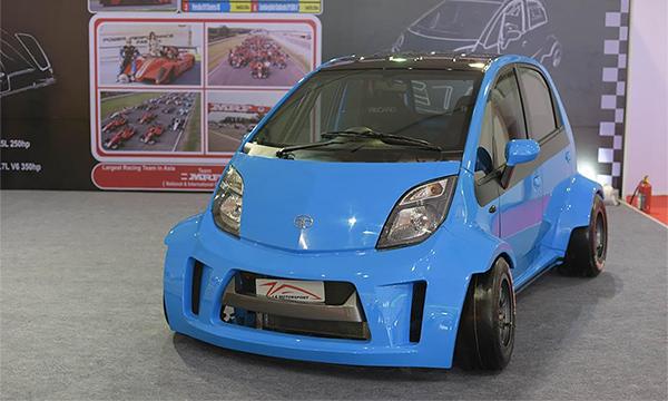 Tata Nano получила 230-сильный мотор
