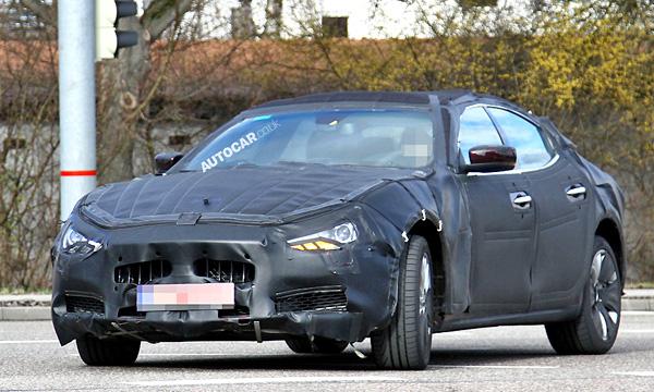 Maserati проводит заключительные тесты Ghibli