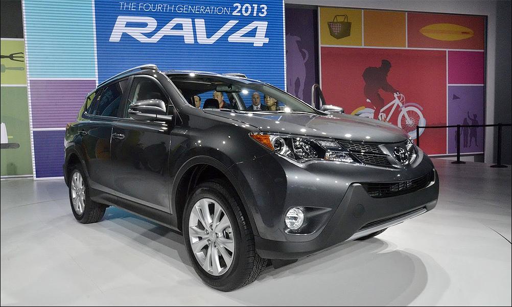 Новый Toyota RAV4 – в Россию с дизелем