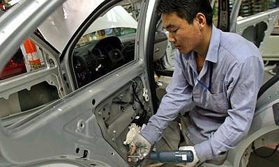 Производство автомобилей в Китае в январе выросло в полтора раза