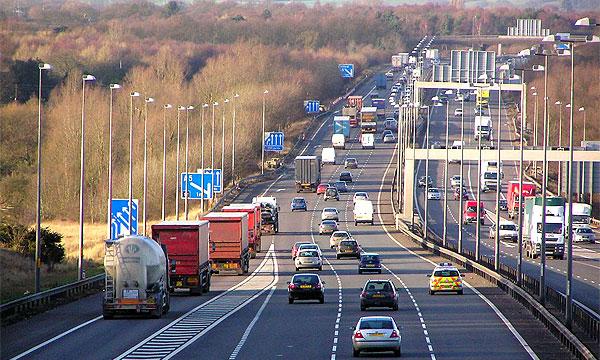 Британцы выбрали худшую дорогу в стране – победила трасса M6