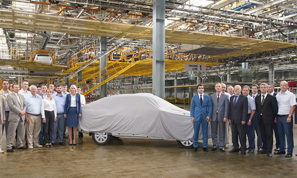 Lada Granta в кузове хэтчбек отправили в производство