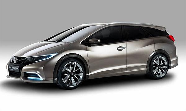 Honda рассекретила Civic в кузове универсал