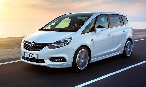 Opel представил обновленный минивэн Zafira