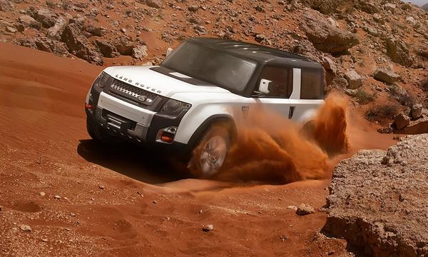 Новый Land Rover Defender выпустят в 2018 году