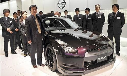 Nissan улучшил спорткар GT-R