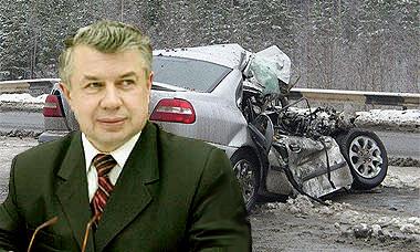 В ДТП ранен председатель Законодательного собрания Калужской области