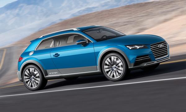Audi покажет в Детройте новый кроссовер