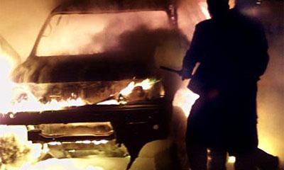 В Москве сгорел автомобиль стоимостью 6 млн долларов