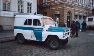 Все милицейские машины оснастят приемниками ГЛОНАСС