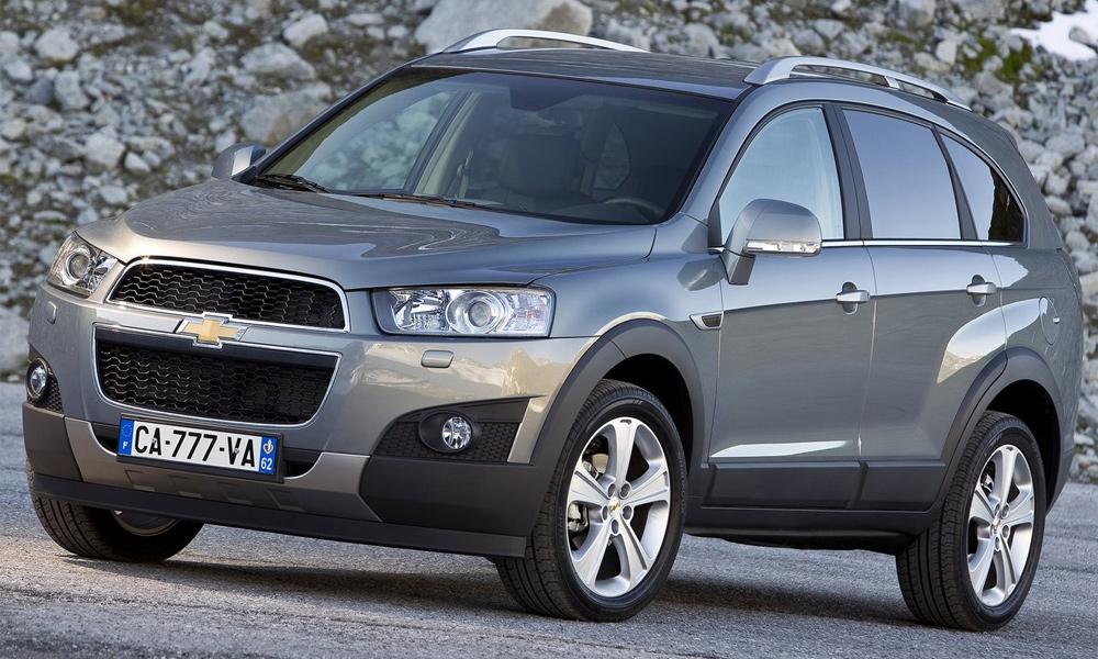 Обновленный Chevrolet Captiva появится в России уже в апреле