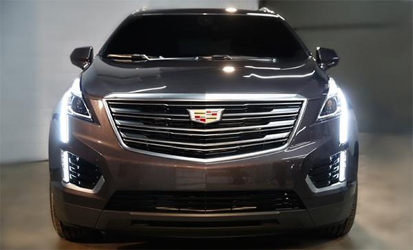 Cadillac опубликовал первые фотографии нового кроссовера XT5