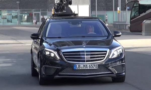 Mercedes-Benz покажет самый мощный седан в истории