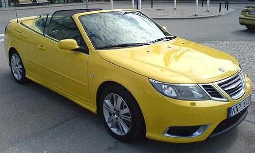 Saab 9-3 кабриолет