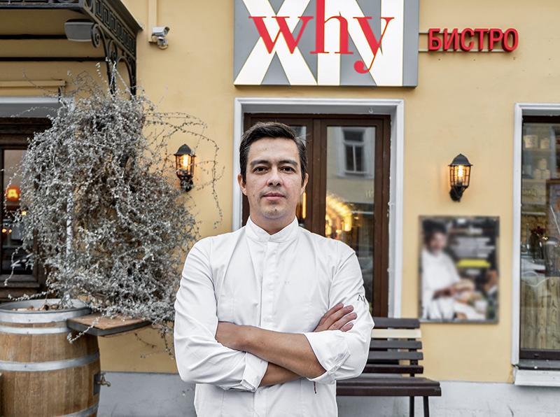 Шеф-повар Сантьяго Торрихос