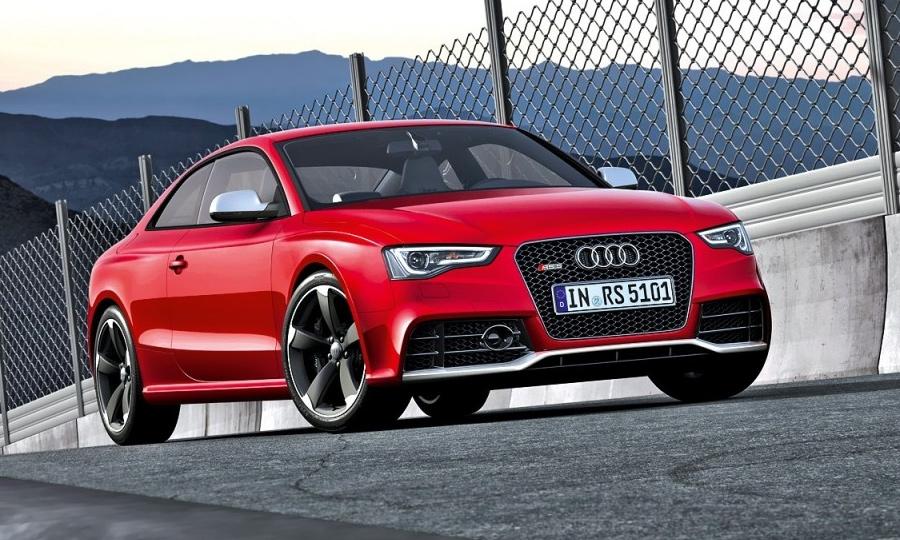 История Audi RS. От 315 до 450 л. с.