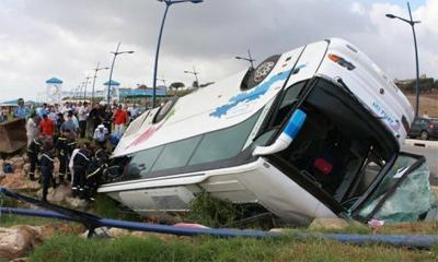 В Египте перевернулся туристический автобус с россиянами