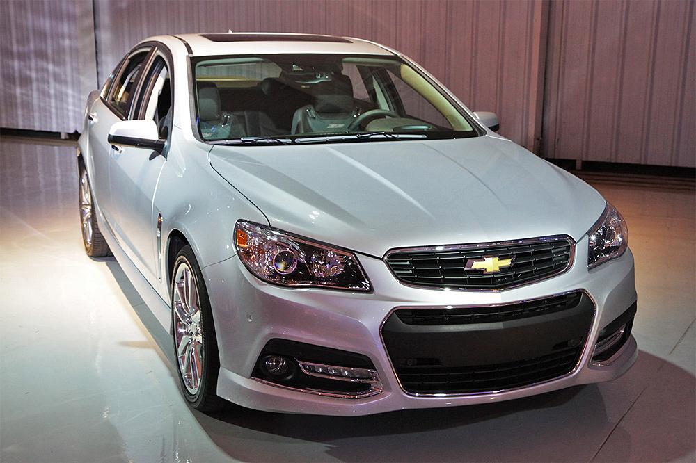 Chevrolet SS не будет импортироваться в Израиль из-за названия