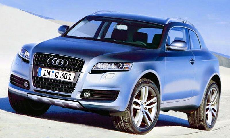Audi взорвет рынок кроссоверов